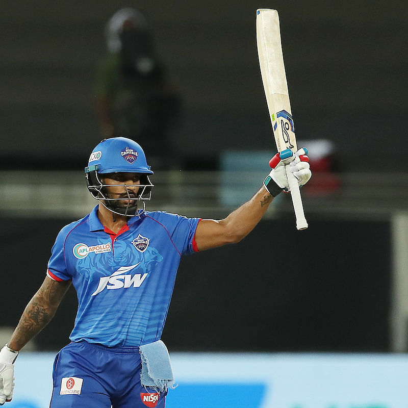 IPL 2020: Shikhar Dhawan creates history, registers second consecutive century