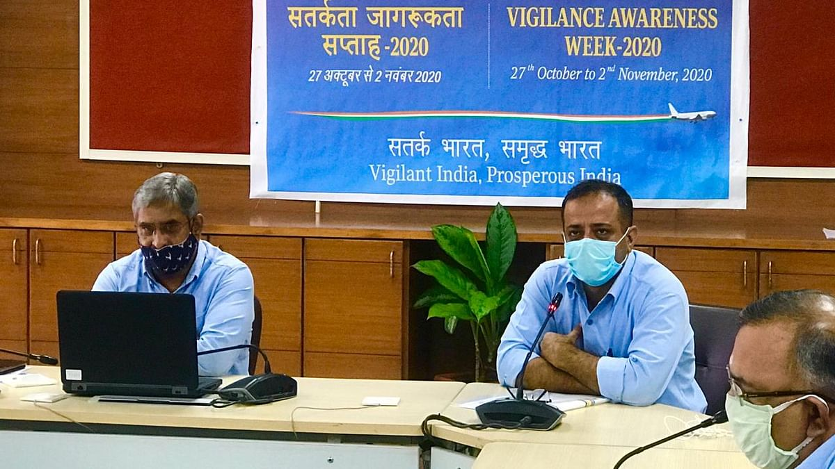 Airports Authority of India commences Vigilance Awareness Week-2020 at Regional Head Quarters, Western Region, Mumbai.