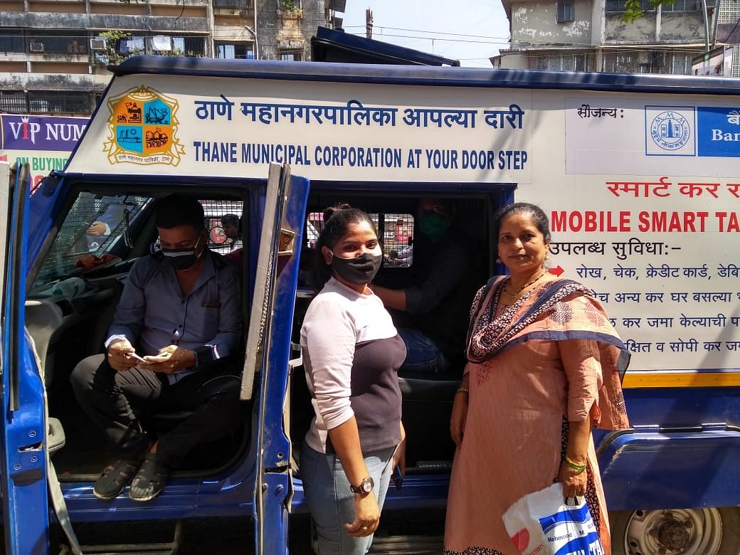 Thane Municipal Corporation introduces mobile van to collect property tax