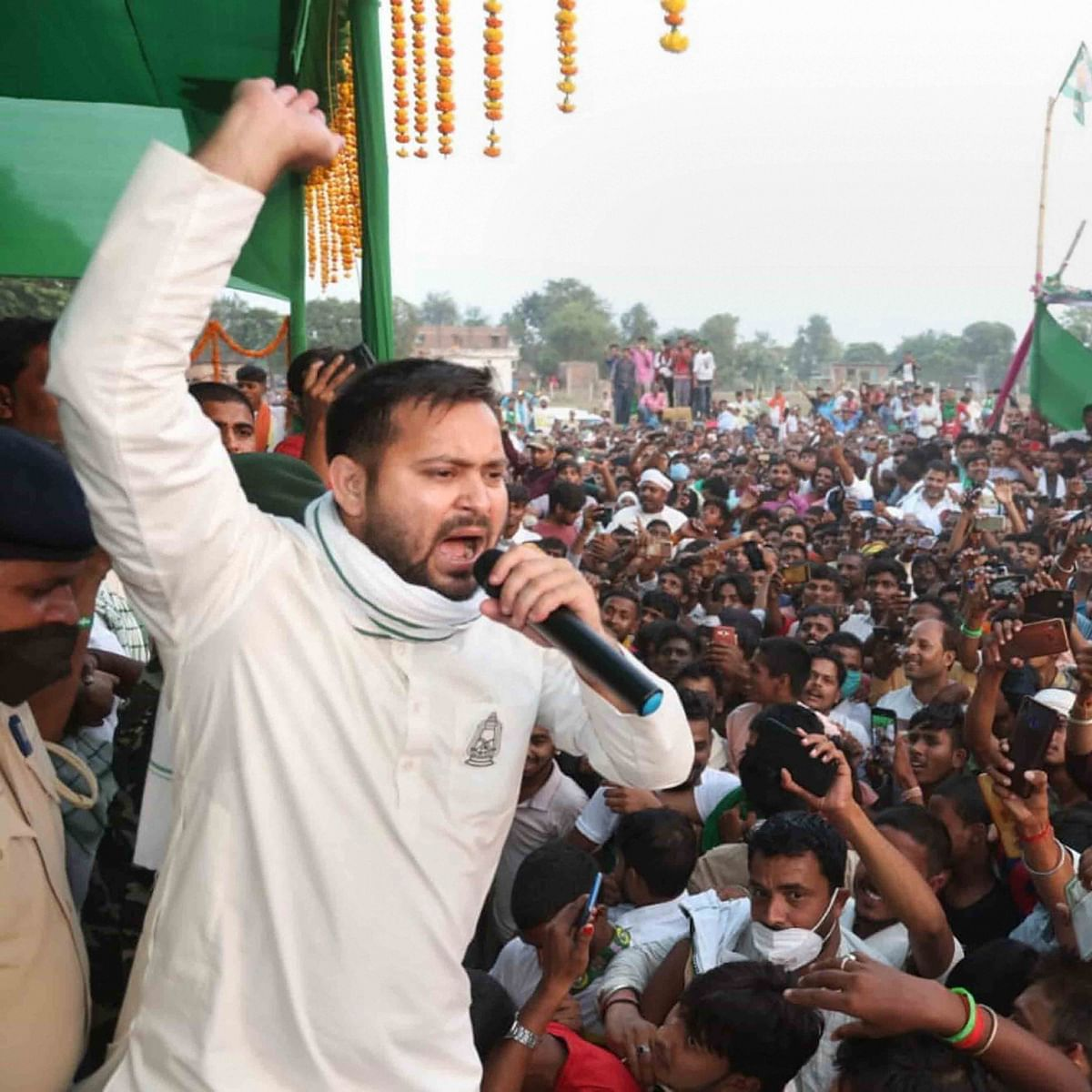 Bihar Election 2020: Mahagathbandhan's CM face Tejashwi Yadav maintains lead in Raghopur