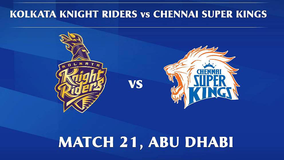 Kolkata Knight Riders vs Chennai Super Kings LIVE: Score, Commentary for the 20th match of Dream11 IPL