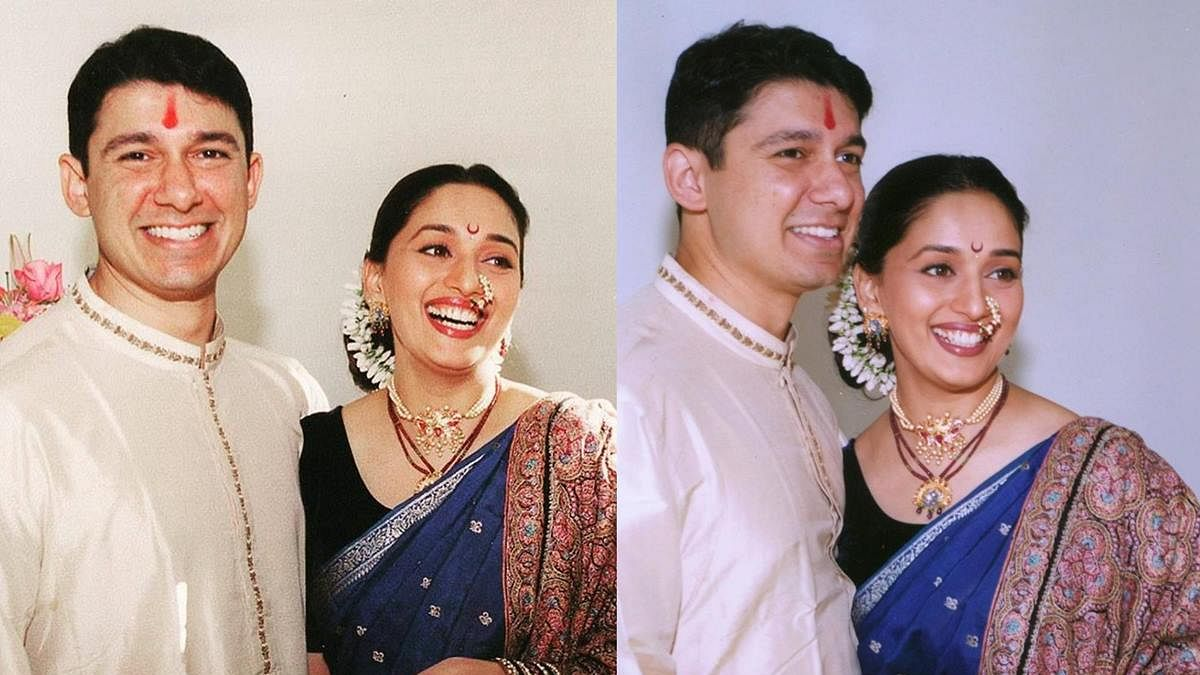 Madhuri Dixit, Sriram Nene look back at their journey together on 21st wedding anniversary