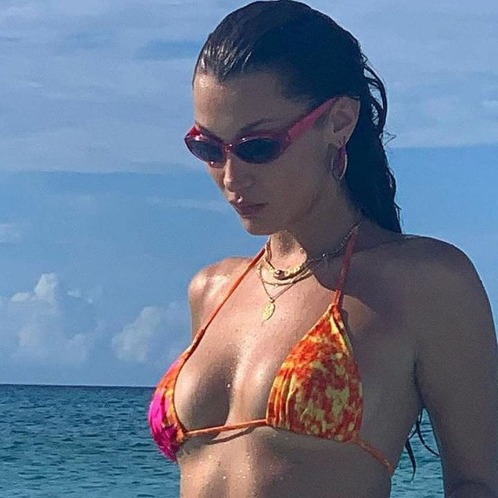 After Kylie Jenner, supermodel Bella Hadid encourages fans to vote with bikini Instagram post