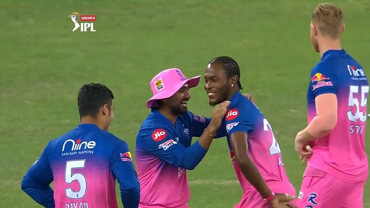 Watch: As Prithvi Shaw departs for a golden duck, Jofra Archer shows his Bihu moves