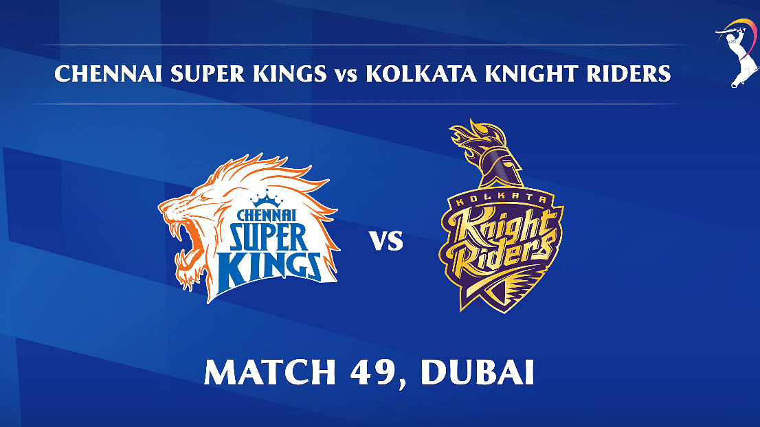 Chennai Super Kings vs Kolkata Knight Riders LIVE: Score, commentary for the 49th match of Dream11 IPL