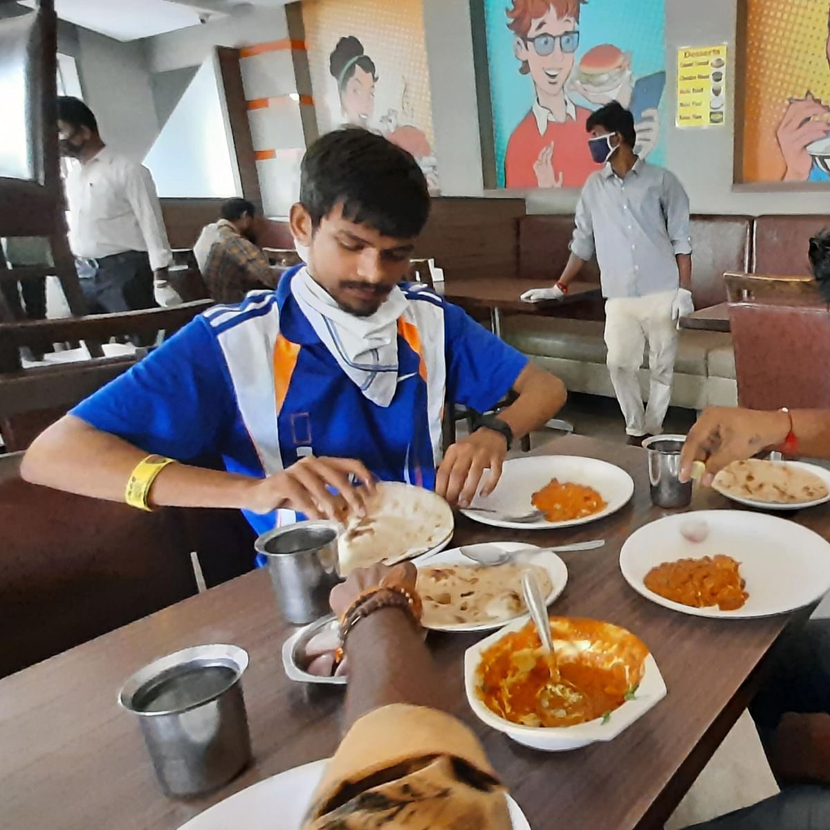 In Pics: As restaurants open after COVID-19 lockdown, Mumbaikars finally get to eat out