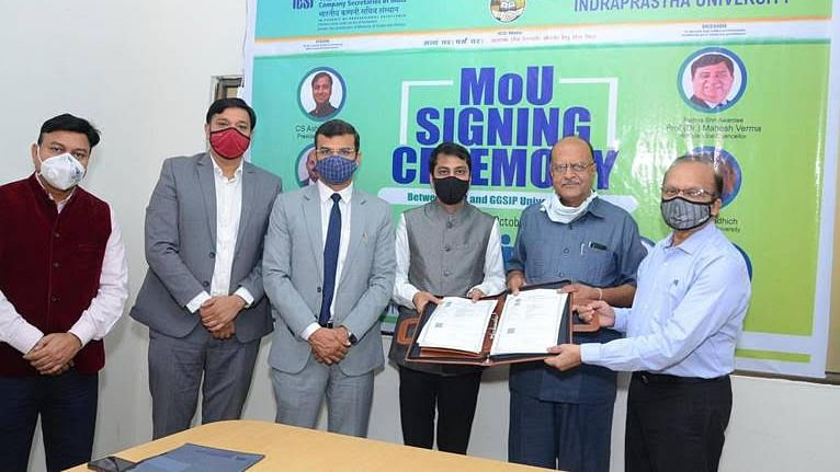 Institute of Company Secretaries of India signs Memorandum of Understanding with Guru Gobind Singh Indraprastha University, Dwarka, New Delhi
