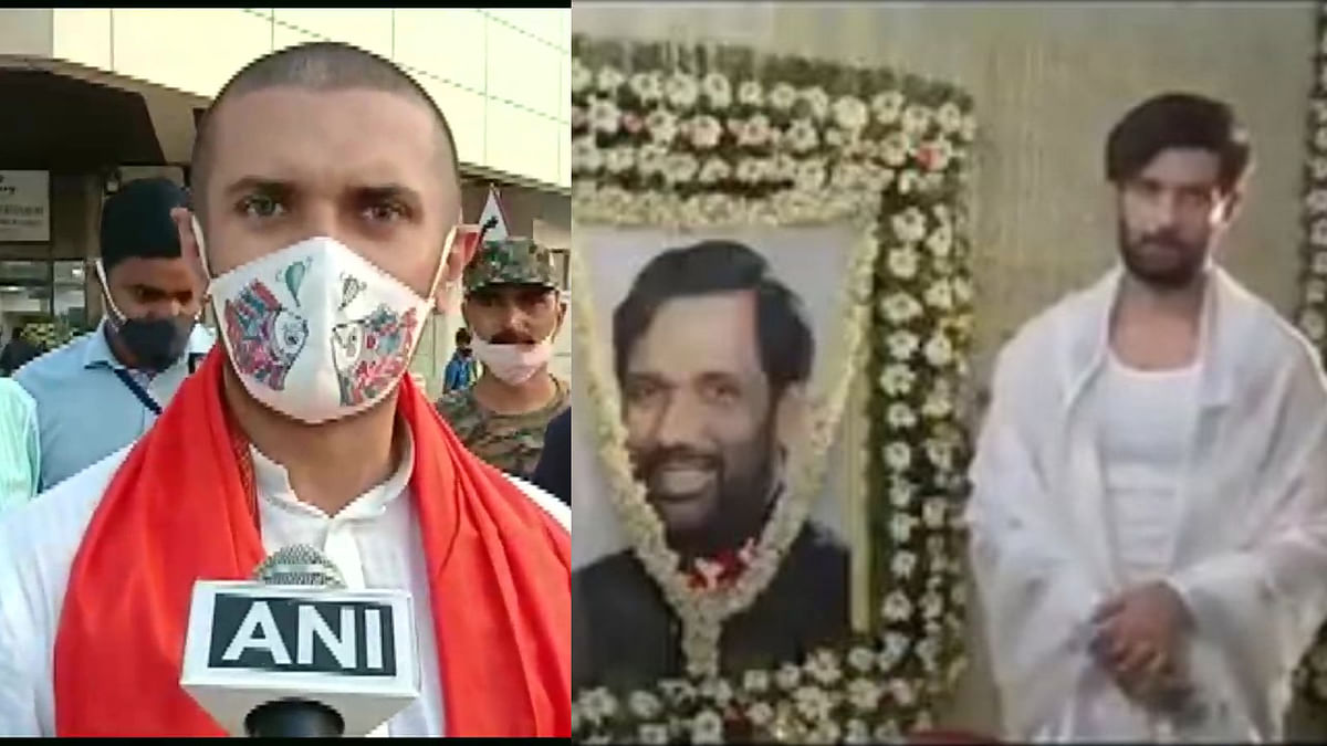 Watch: Cong leaders share Chirag Paswan's video discussing 'baal ka texture' in front of father's image, label him 'feku'