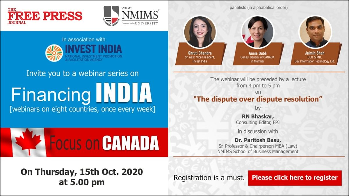 How to watch the first session on 'Financing India': Know what Canadian companies think about investing in India