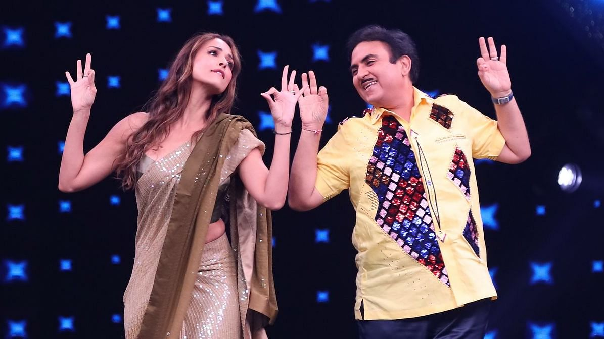 Taarak Mehta's Jethalal grooves with Malaika Arora on India's Best Dancer
