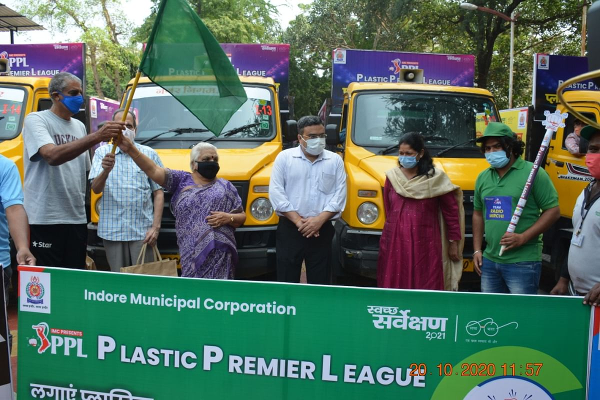Indore: PPL idea works, IMC collects 7120 kg plastic from houses