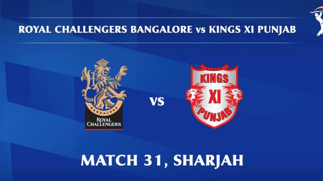 Royal Challengers Bangalore vs Kings XI Punjab LIVE: Score, commentary for the 31st match of Dream11 IPL
