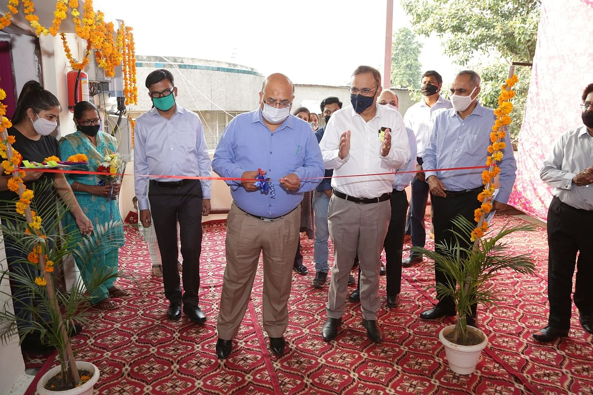 REC Corporate Social Responsibility inaugurates projects worth Rs. 1.34 crore in National Association for the Blind, New Delhi