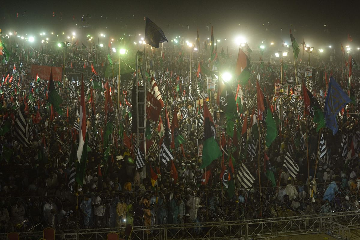 Pakistan: Govt shaken up by PDM's third rally, calls opposition leaders 'thugs'