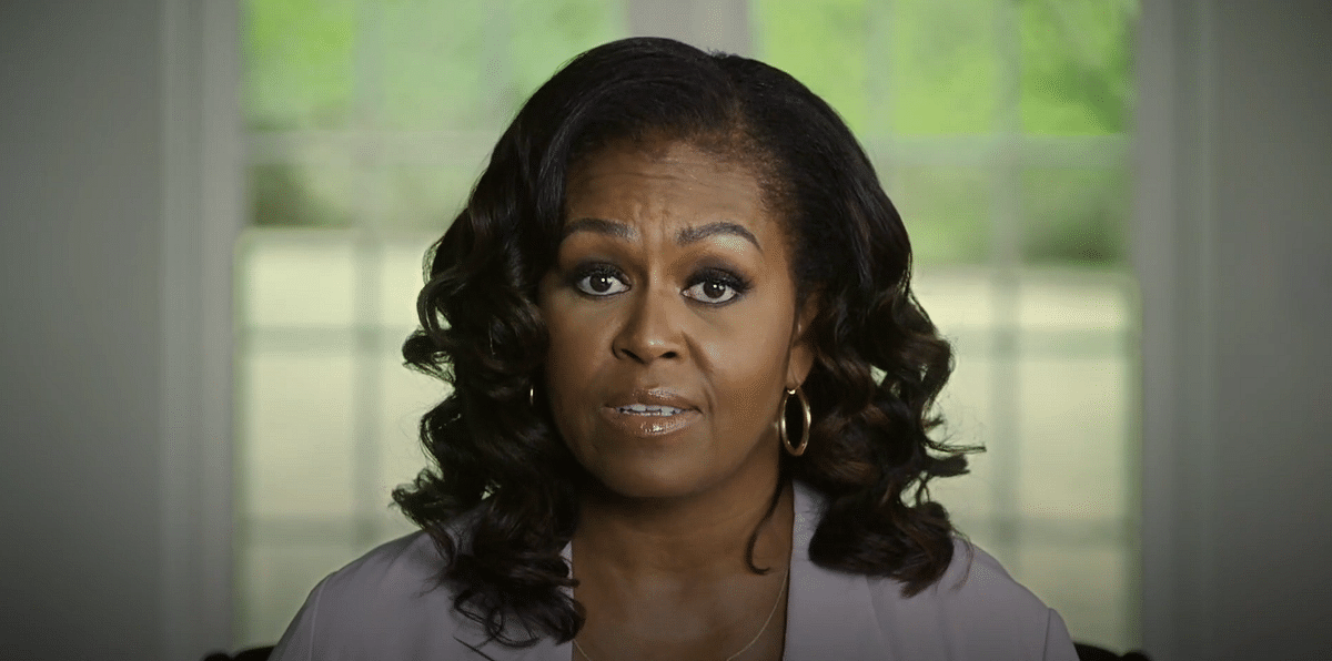 Photo: Twitter video screengrab/Michelle Obama