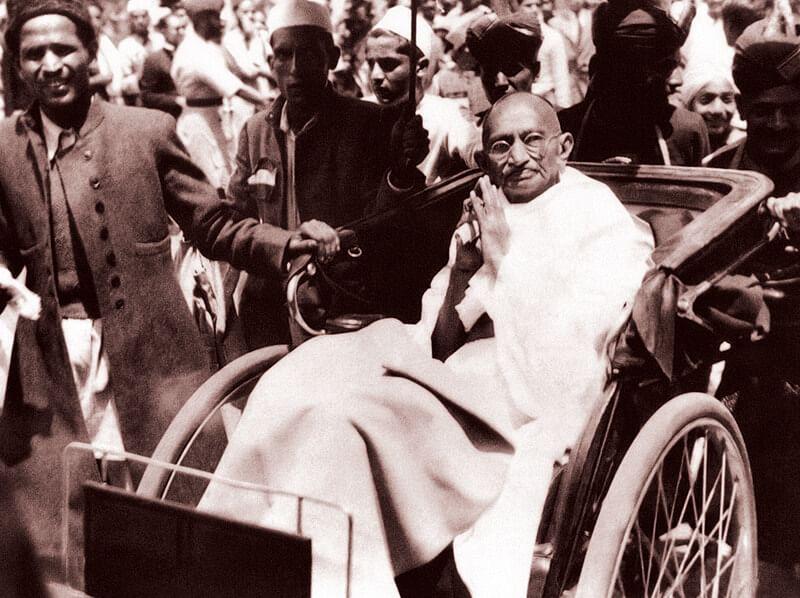 Gandhi in Simla Conference