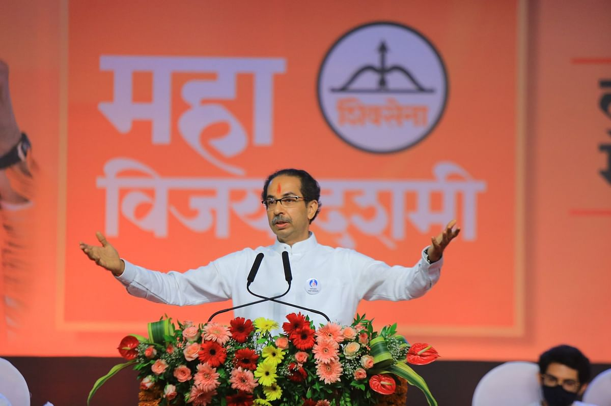 Improve economy instead of toppling govts: Maha CM Uddhav Thackeray slams BJP in Dussehra speech