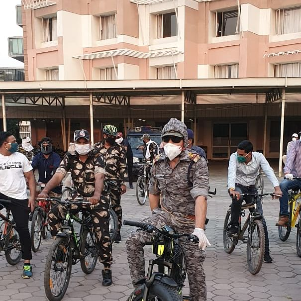 Beating Covid: It's V for Victory for Vijay Nagar Police Station in Indore