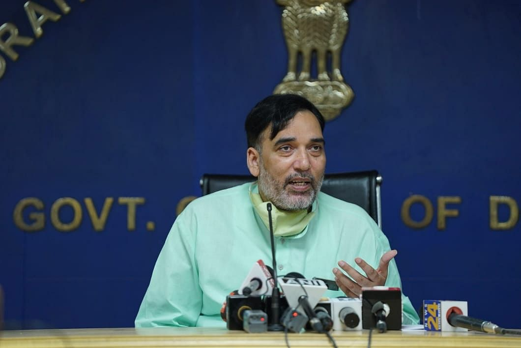 Delhi Environment Minister Gopal Rai urges govt agencies, individuals to follow anti-dust pollution directives