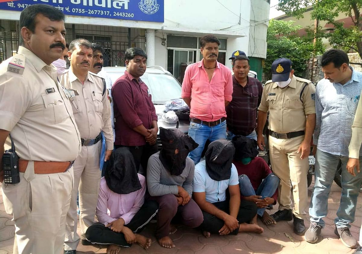 Bhopal: 4 arrested for holding family captive for loot