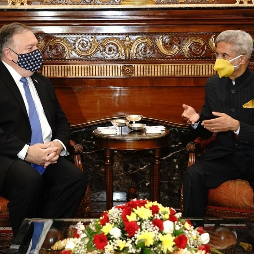 Amid India-US 2+2 dialogue, MEA Jaishankar's choice of masks has Twitter abuzz