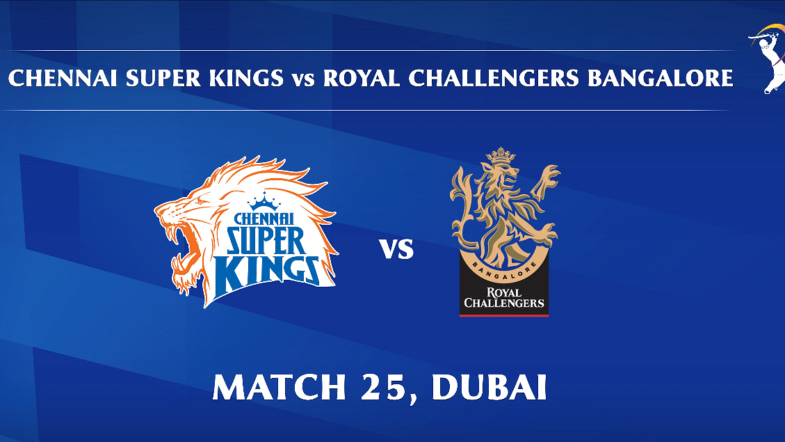 Chennai Super Kings vs Royal Challengers Bangalore LIVE: Score, Commentary for the 25th match of Dream11 IPL
