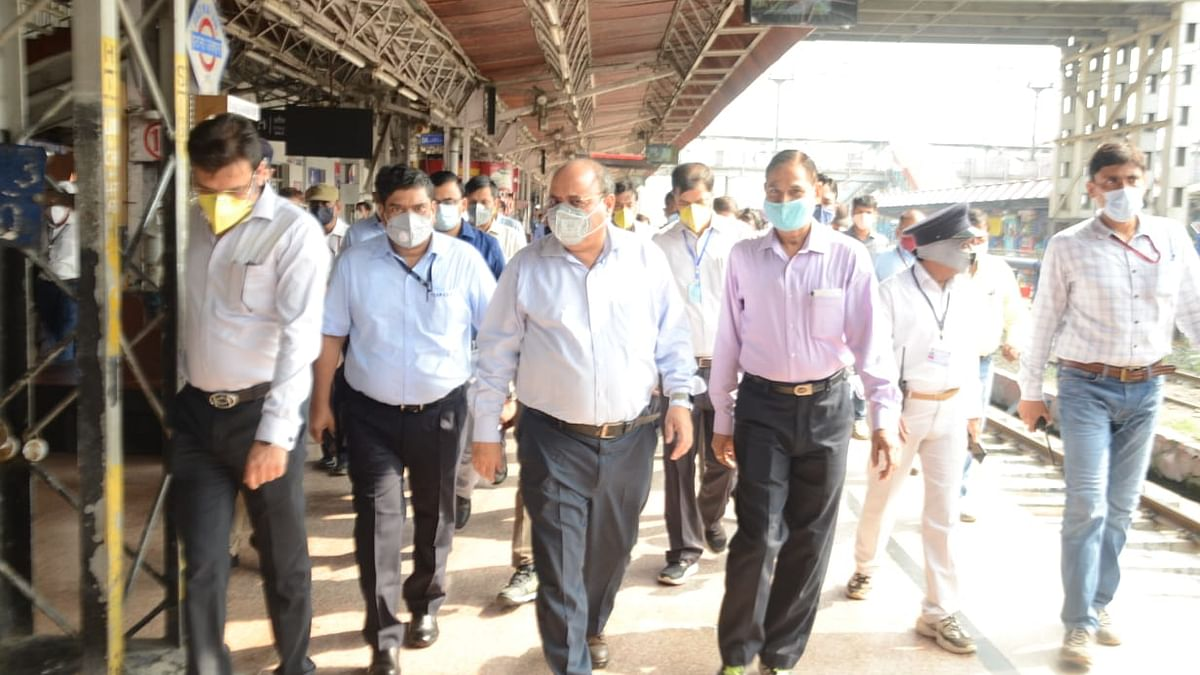 East Central Railway General Manager inspects Patna Junction