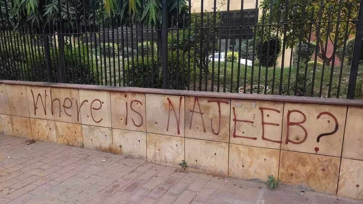 Najeeb Ahmed disappeared from his hostel on the university campus under suspicious circumstances on October 15, 2016.