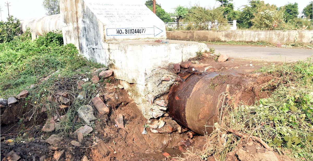 Bhopal: Frequent bursts in Kolar pipeline cause revenue loss to BMC