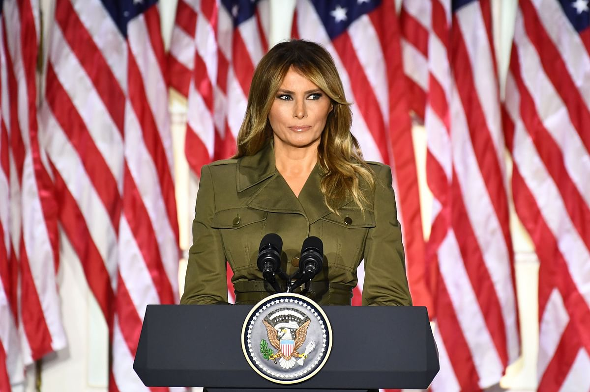 Leaked tape reveals First Lady Melania Trump's Christmas rant
