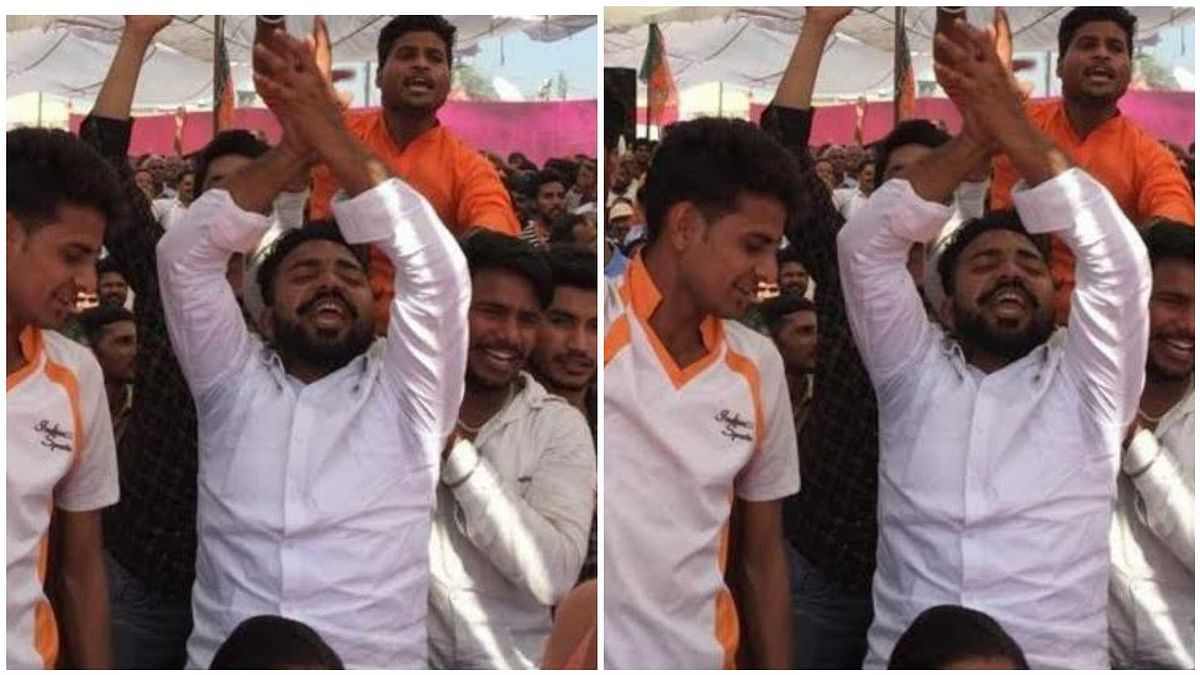 Vishal Rana, one of the accused in the Mohammed Akhlaq lynching case was seen in a Bharatiya Janata Party (BJP) rally in Bisada village in Uttar Pradesh's Greater Noida. The rally was addressed by Uttar Pradesh Chief Minister Yogi Adityanath.