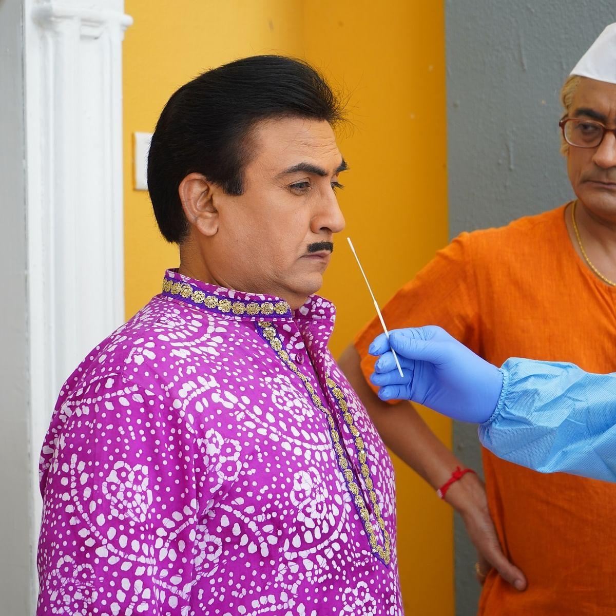 Taarak Mehta Ka Ooltah Chashmah: Gokuldhaam Society's residents undergo COVID-19 tests; see pics
