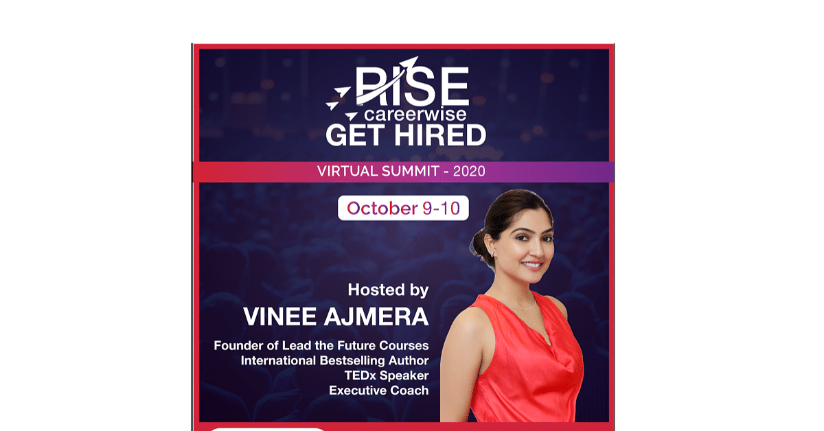 Rise Careerwise - Get Hired Virtual Summit 2020 by Lead the Future Courses to kickstart soon