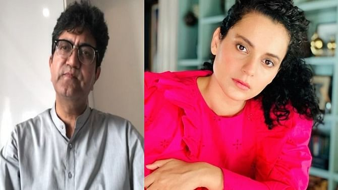'She is talking about her truth': Prasoon Joshi says Kangana's comments on drug abuse in Bollywood 'shouldn't be trivialised'