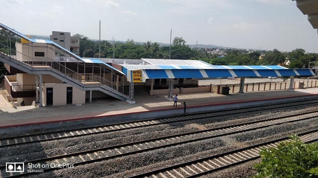 South Western Railway's Unkal and Dharwad (17 Km) line doubled