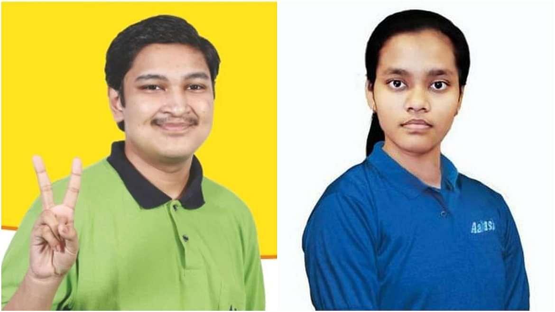 Odisha's Soyeb Aftab and Delhi's Akanksha Singh scored 720 out of 720 marks in NEET 2020