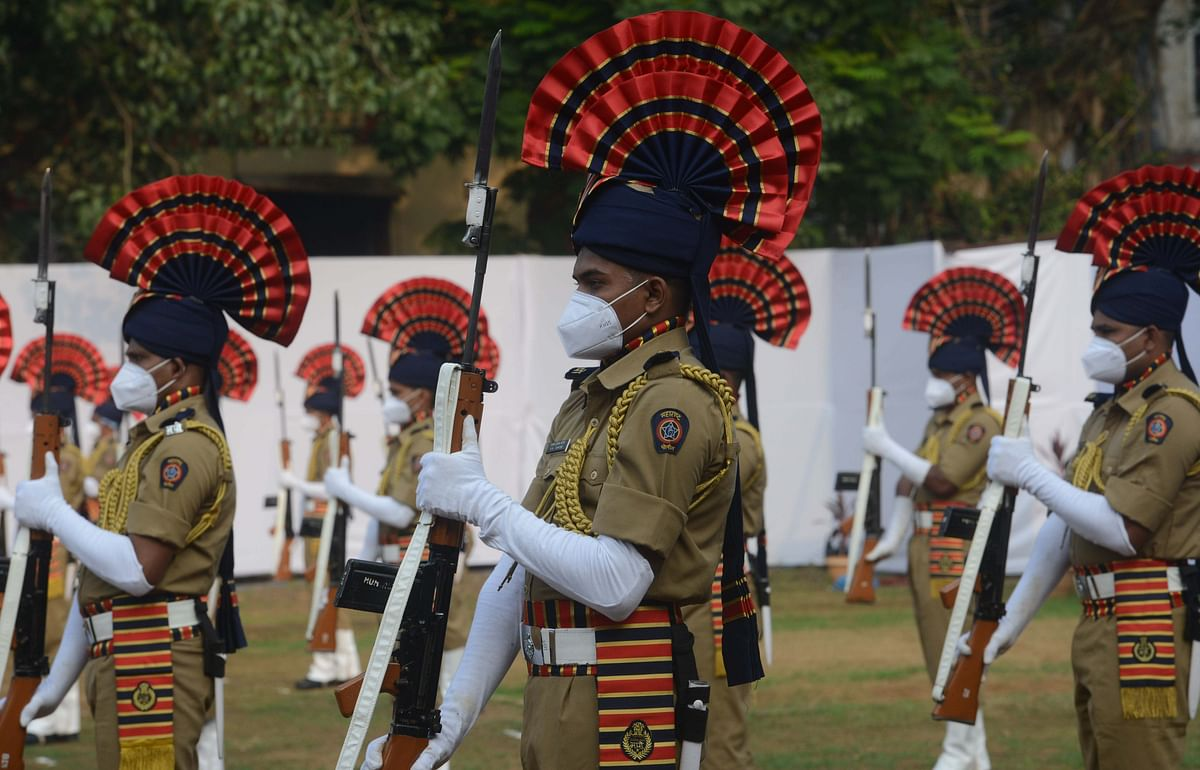 In Pictures: On Police Commemoration Day, Maha CM Uddhav Thackeray pays tributes to cops who died in line of duty