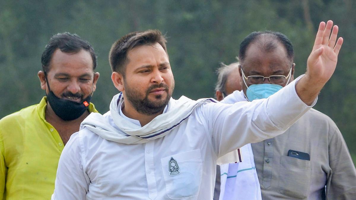 Lalu coming out on bail on Nov 9, Nitish's farewell next day: Tejashwi Yadav