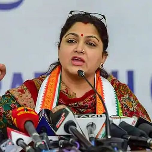 Actor-turned-politician Khushbu Sundar apologises for calling the Congress a mentally retarded party