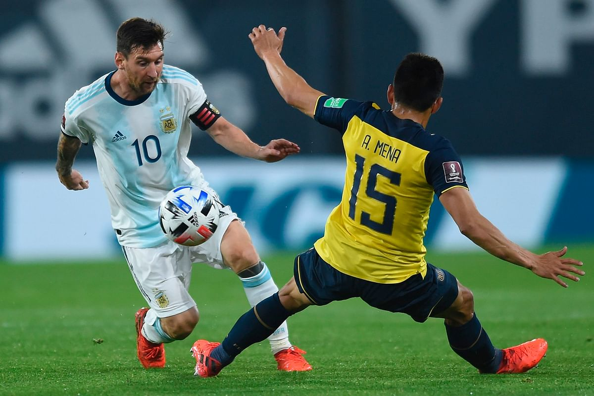 Messi scores for Argentina, Luis Suarez nets for Uruguay, as South American Fifa qualifiers kicks off