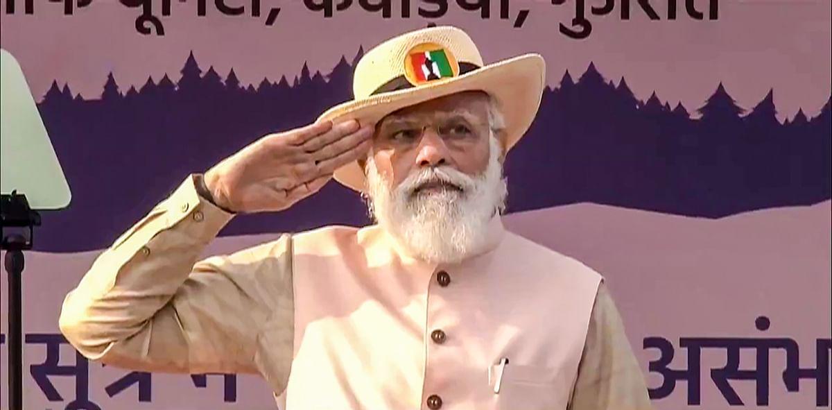 Watch: PM Modi inaugurates India's first water aerodrome and sea plane service in Gujarat