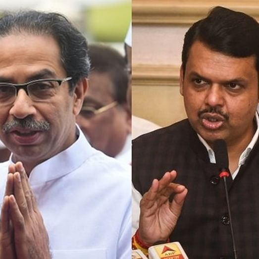 Uddhav Thackeray, Devendra Fadnavis visit flood-hit areas of western Maharashtra and Marathwada