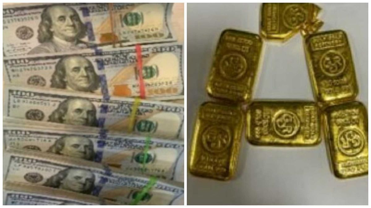 Mumbai: Flyers intercepted with foreign currency, gold at city airport