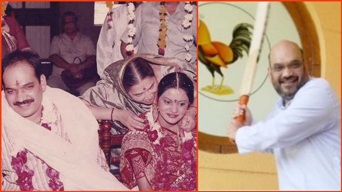Amit Shah turns 56: Unseen images of Union Home Minister