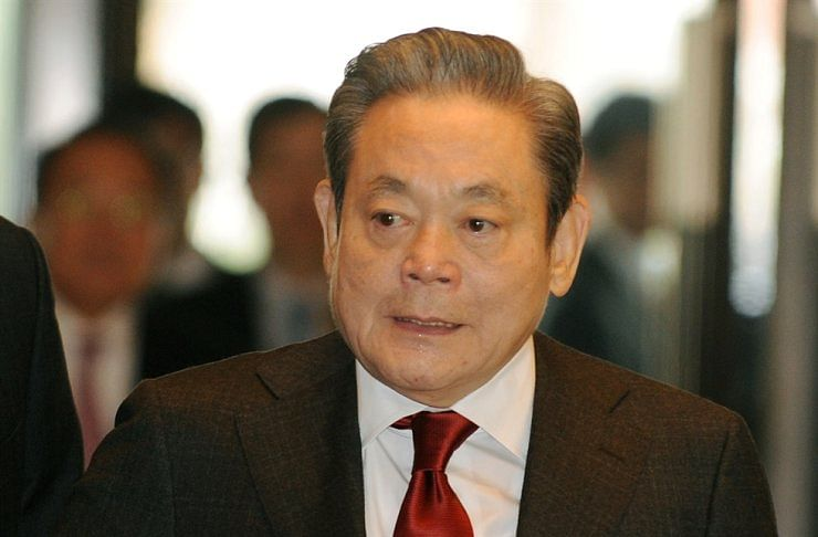 Samsung Electronics Chairman Lee Kun-Hee passes away at 78