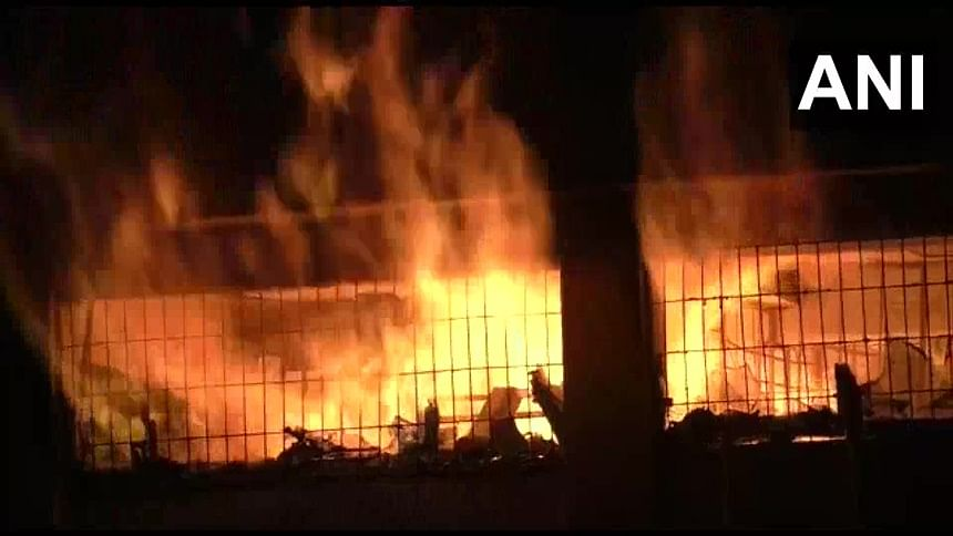 Major fire breaks out a godown in Bhiwandi, no casualties reported
