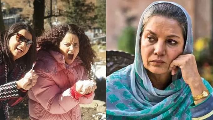 Rangoli hits back at Shabana Azmi for comments about Kangana Ranaut, says 'why don't you stick to acting?'