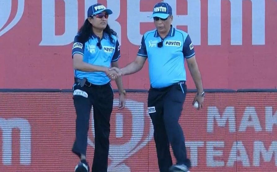 Meet Pashchim Pathak, the 'woman' umpire in today's KKR vs SRH match