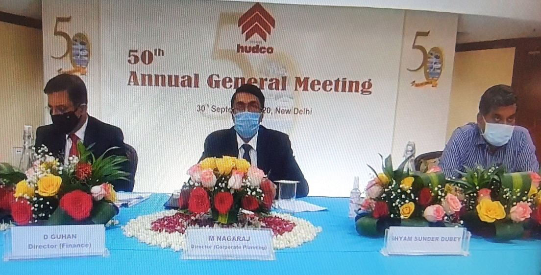 HUDCO hosts 50th Annual General Meeting