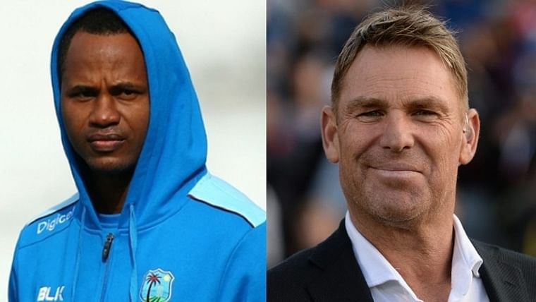 'Cricketer who got...': Marlon Samuels hits back at Shane Warne for 'needs help' remarks, here is what he said
